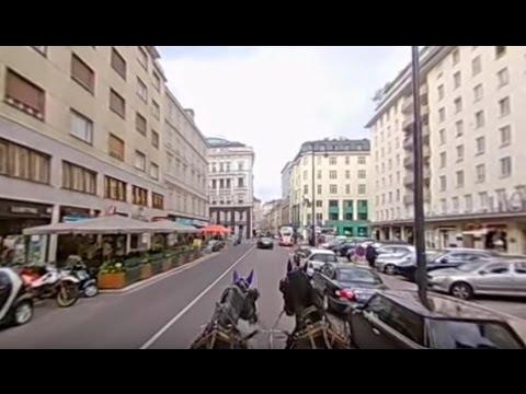 Vienna Fiaker Stories Teil 103 - 360° Video - Fiakertour durch Wien! Teil 1