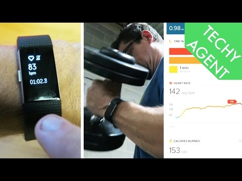 Fitbit Charge 2 Fitness REVIEW!!!