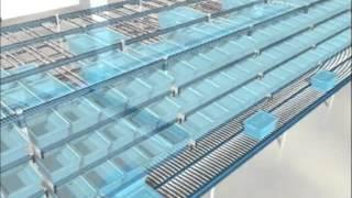 видео: Гравитационные стеллажи для коробок