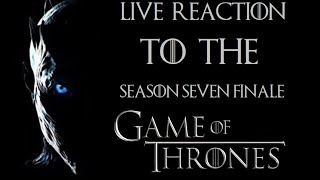 "Game of Thrones Season 7 FINALE ""The Dragon and the Wolf"" REACTION"
