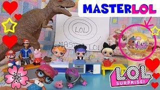 MASTERLOL LOL SURPRISE challenge + LIL SISTER wave 2 STUPENDA!! parodia Mastechef By Lara e Babou