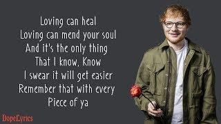 Download Photograph - Ed Sheeran (Lyrics) Mp3 and Videos