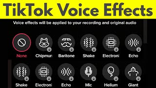 How to Add Voice Effects on Tik Tok Videos-New Update screenshot 2