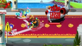 Angry Birds Epic. Evento Sonic Dash Boss.
