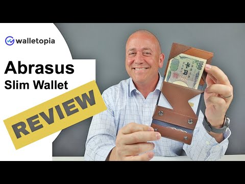 Japanese Made Abrasus Is A Clever Find, For Those Who Carry More Cash And Coins