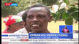 Bulldozers descended on Maasai village in Embakasi