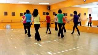 You Knock Me Down - Line Dance (Dance & Teach in English & 中文)