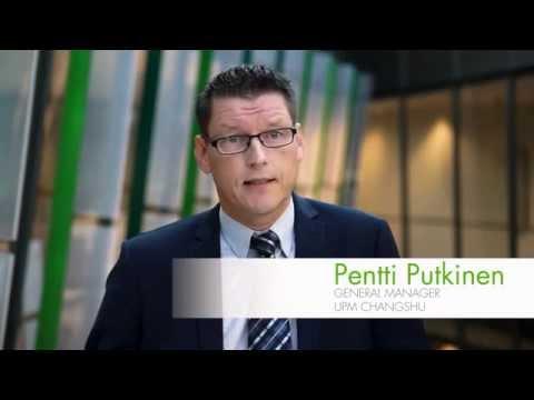 Pentti Putkinen about UPM Changshu mill in China