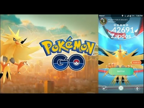 WORLDS FIRST ZAPDOS RAIDS, POKEMON GO LEVEL 40! LEGENDARY RAIDS