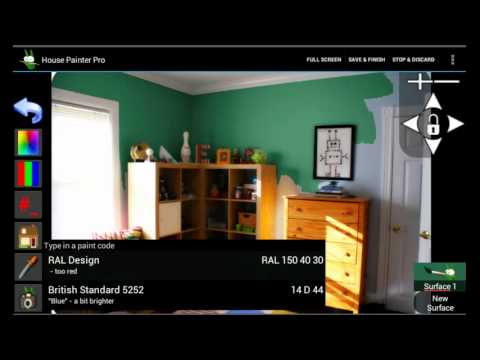 House Painter Pro An App To Paint Your House Youtube