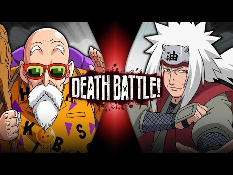 Roshi VS Jiraiya (Dragon Ball VS Naruto) | DEATH BATTLE!
