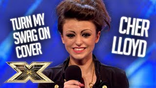 SUPER COOL 16-year-old Cher Lloyd brings the SWAGGER! | The X Factor UK