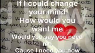 Boyce Avenue - Change Your Mind (Acoustic)   Lyrics