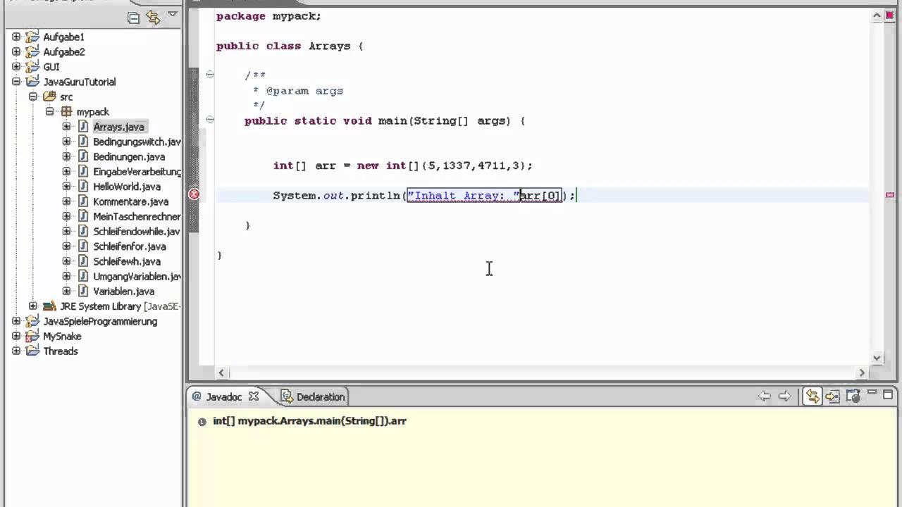 Java Programmierer