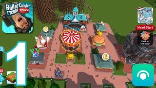 RollerCoaster Tycoon Touch - Gameplay Walkthrough Part 1 - Level 1-6 (iOS)