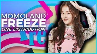 Momoland - Freeze | Line Distribution