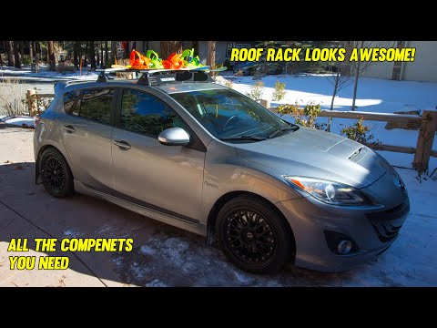 How To Install A Roof Rack Making It Easy Youtube