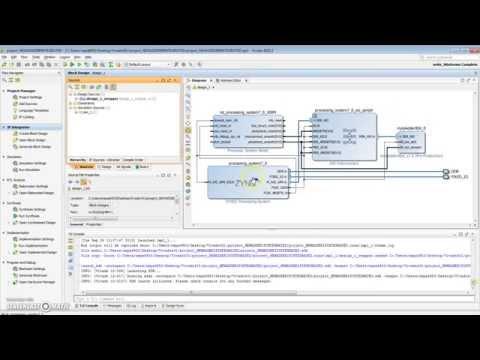 Vivado 2015.2 CUSTOM IP PART III - Creating Software for your custom IP Xilinx SDK