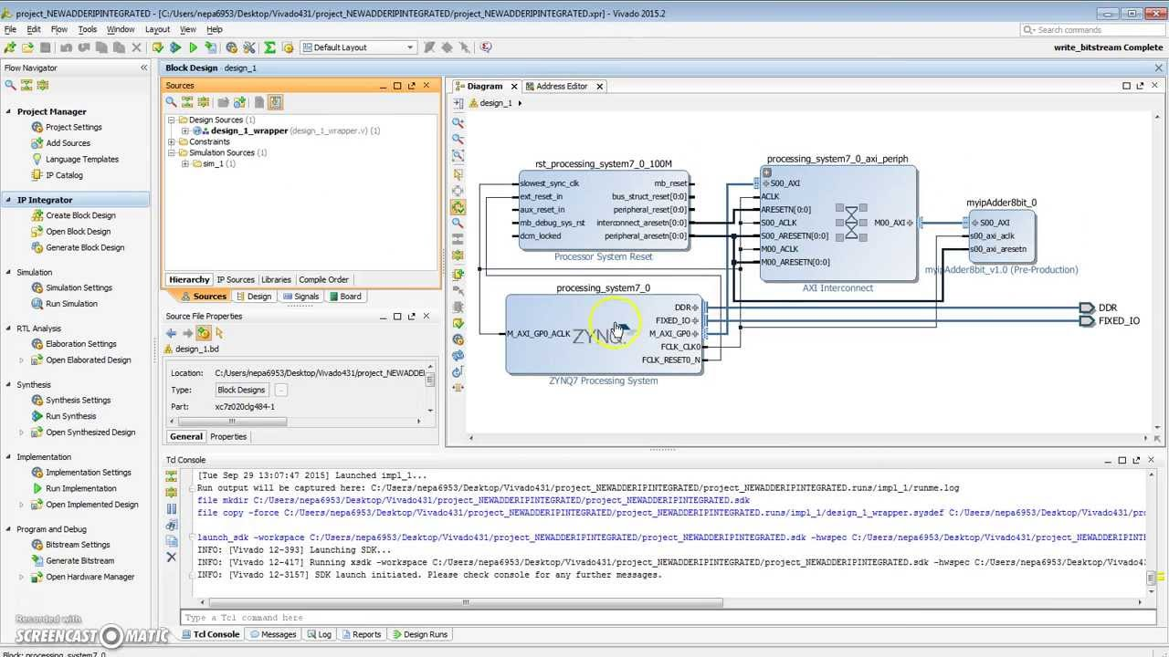Vivado SDK Hello World Outputs Nothing to Terminal - FPGA - Digilent