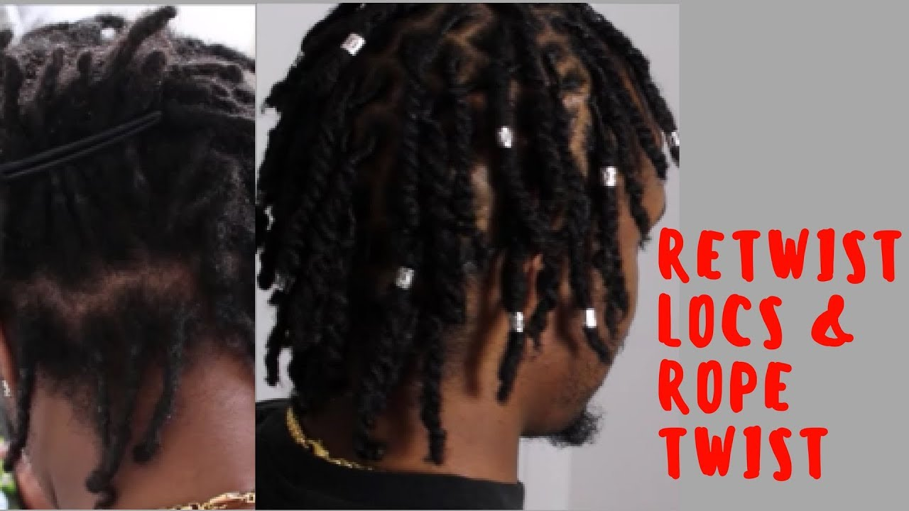 RETWIST LOCS/DREADS & ROPE TWIST