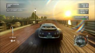 NFS The Run - Bugatti Veyron Super Sport - New York - i7 2600K - XFX HD 6870