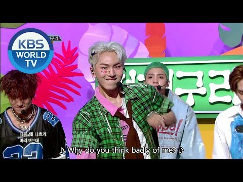 PENTAGON - Naughty Boy | 펜타곤 - 청개구리 [Music Bank COMEBACK / 2018.09.14]