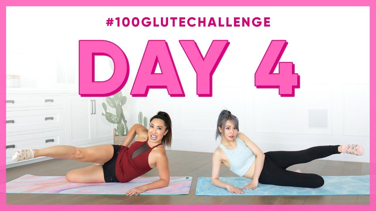 Day 4: Mermaid Front Raise! | 100 Glute Challenge w/ Wengie