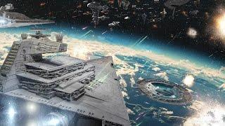 Обзор битвы повстанцев с имперцами над Скарифом в фильме Изгой Один