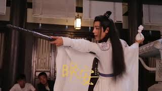 [Fancam | Xiao Zhan] Wei Wuxian - The Untamed BTS