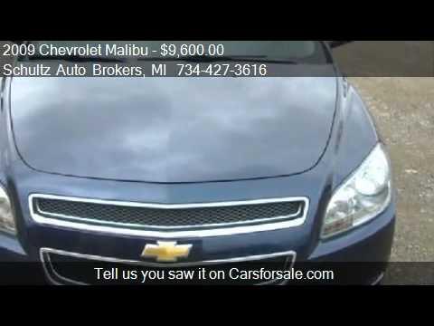 2009 Chevrolet Malibu LT1 for sale in Livonia, MI 48150 at S
