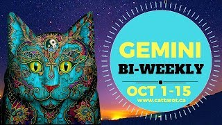 💞 GEMINI OCT 1-15 BI WEEKLY ***Love, love and love, but self-love comes first***