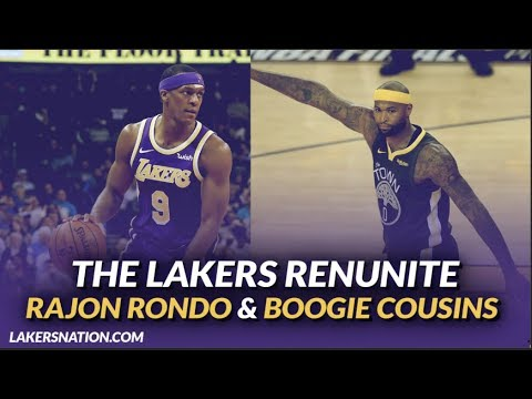 Rajon Rondo explains why he came back to the Lakers in free agency