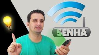 Como MUDAR a SENHA Do WiFi  I  Maneira Fácil pelo celular 2017