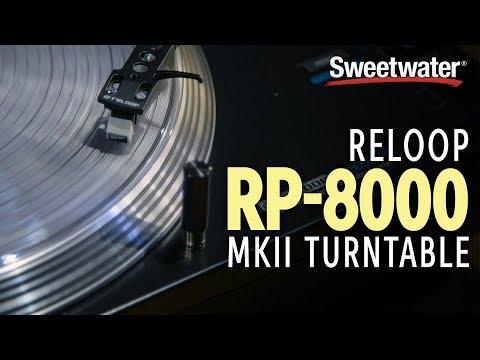 Reloop RP-8000 MK2 Turntable Demo