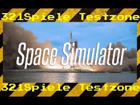 Space Simulator - Angespielt Testzone - Gameplay Deutsch