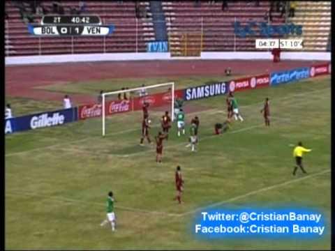 Bolivia 1 Venezuela 1 (Audio Deportes Union  Radio ) Eliminatorias Rumbo a Brasil 2014 Los goles