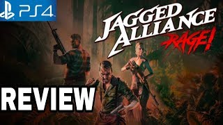 Jagged Alliance: Rage Review – PS4