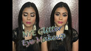 NYE Glittery Eye Makeup 🎉 ** B Beautiful by Binita **