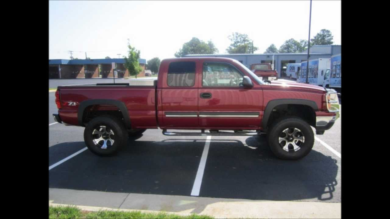 2006 Chevrolet Silverado 1500 LS Lifted Truck For Sale ...