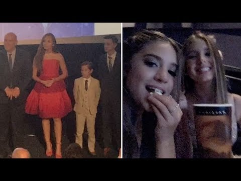 Maddie Ziegler At Her Movie WORLD PREMIERE With Mackenzie Ziegler