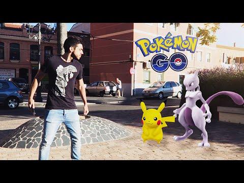 CAPTURANDO POKEMON EN MÓSTOLES !! Pokemon GO