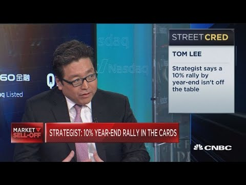 A 10% rally by year-end is still on the table, says Fundstrat's Tom Lee