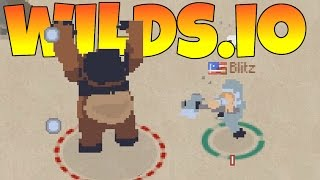 Wilds.io - Barbarians Online! - Wilds.io Gameplay
