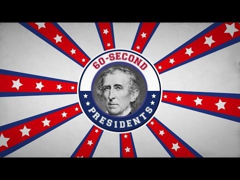 John Tyler | 60-Second Presidents | PBS