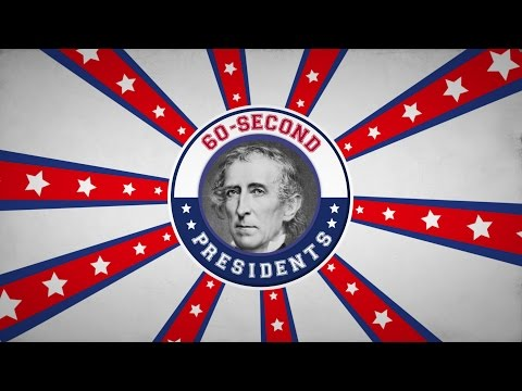 John Tyler | 60-Second Presidents | PBS