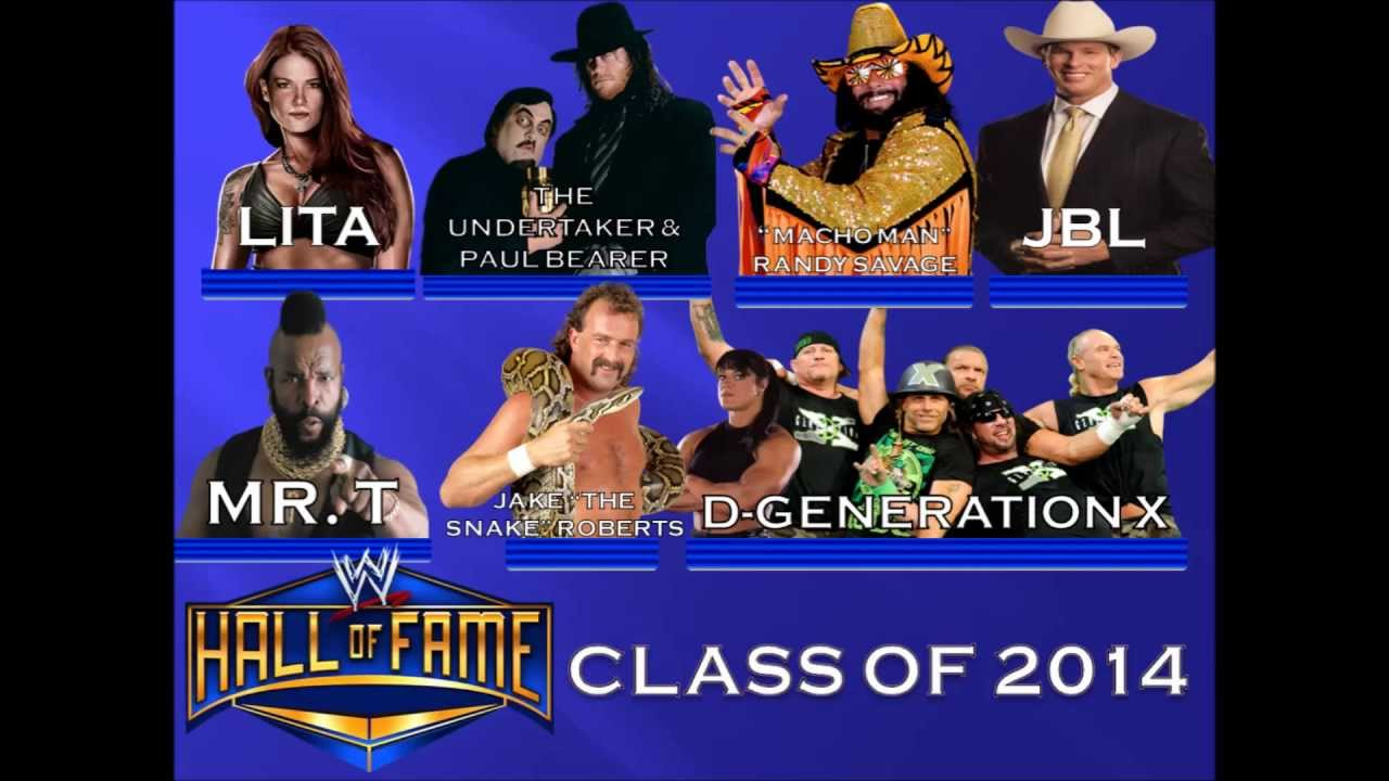 WWE HALL OF FAME 2014 - YouTubeWwe Hall Of Fame 2014 Inductees