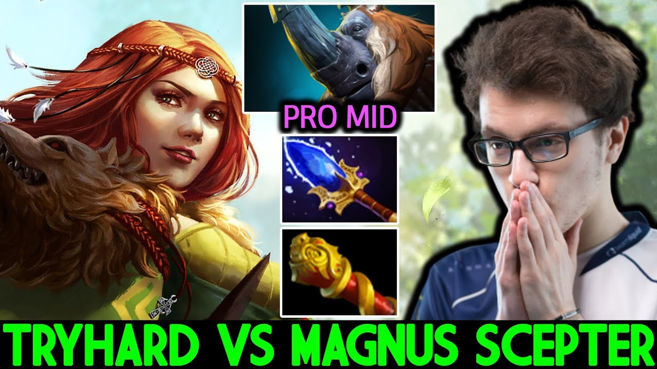 MIRACLE [Windranger] VS Cancer Magnus Scepter Hard Game 7.23 Dota 2 thumbnail