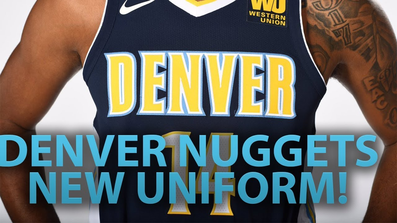 444743f8328 DENVER NUGGETS NEW UNIFORM
