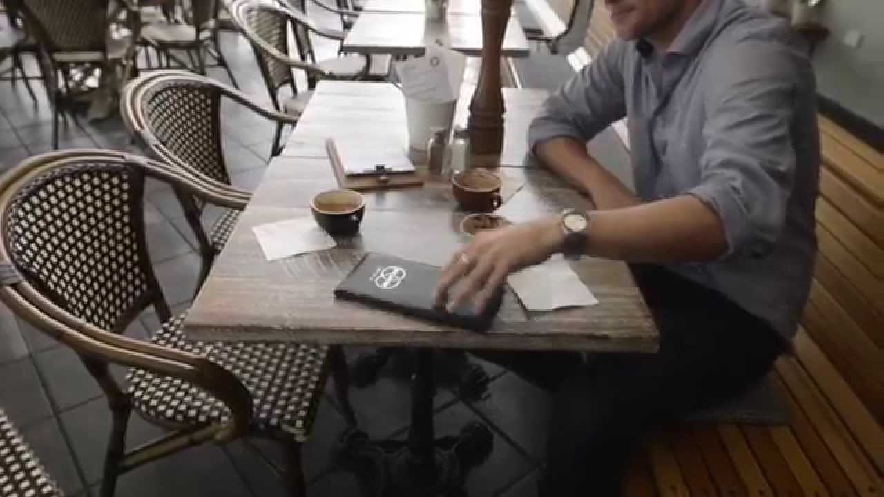 Pay At Table Technology In A Sydney Restaurant By Mint Payments - Pay at the table restaurant