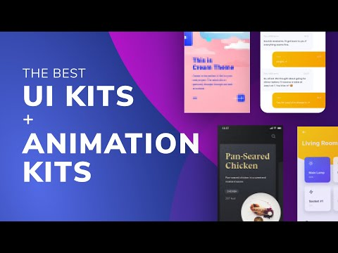 The Best UI Kits + Animation Kits For Free | Design Essentials